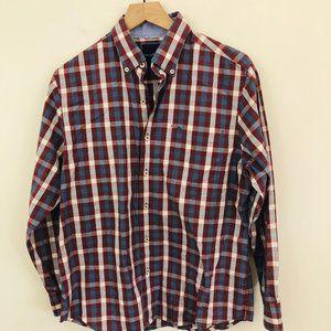 Tommy Bahama Pima Cotton Plaid Shirt